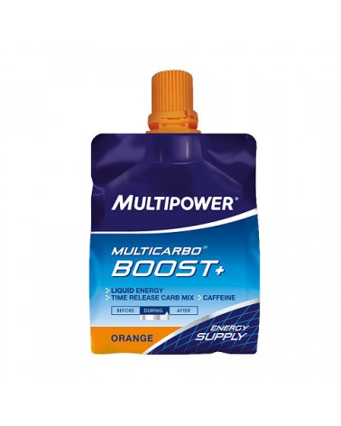 Gel Multipower Mulircarbo Boost naranja
