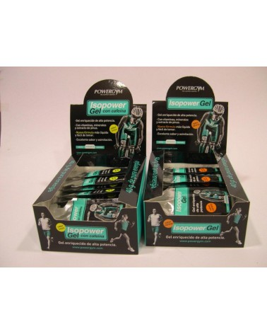 Gel Powergym Isopower naranja