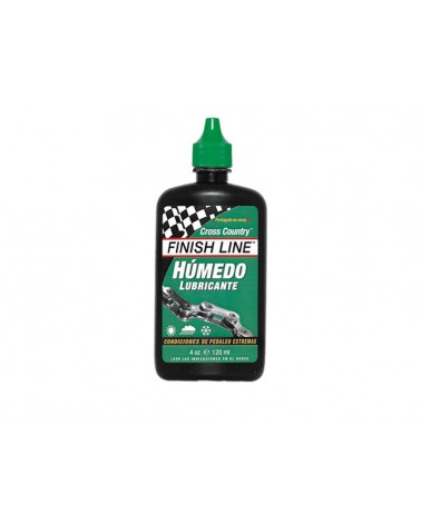 Lubricante Finish Line Cross Country Húmedo Bote 120ml