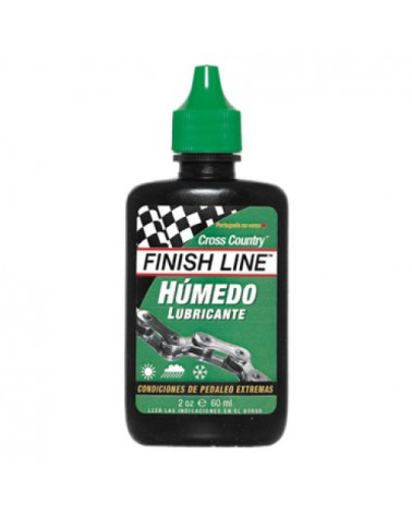 Lubricante Finish Line Cross Country Húmedo Bote 60ml