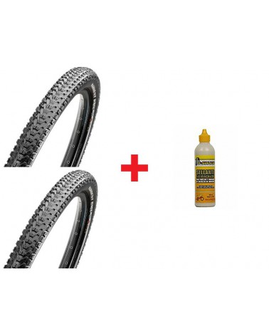 Pack Maxxis Ardent Race TLR EXO+Ardent Race TLR EXO+X-Sauce 200ml