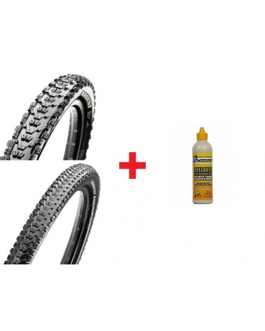 Pack Maxxis Ardent TLR EXO+Ardent Race TLR EXO+X-Sauce 200ml
