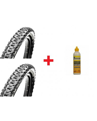 Pack Maxxis Ardent TLR EXO+Ardent TLR EXO+X-Sauce 200ml