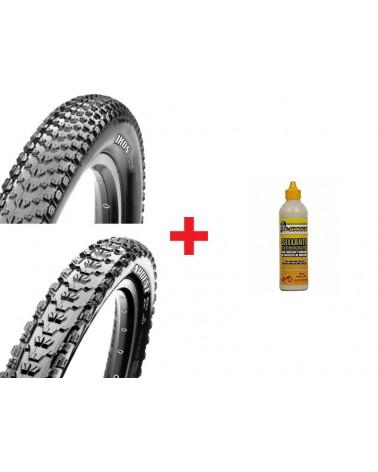 Pack Maxxis Ikon TLR EXO+Ardent TLR EXO+X-Sauce 200ml