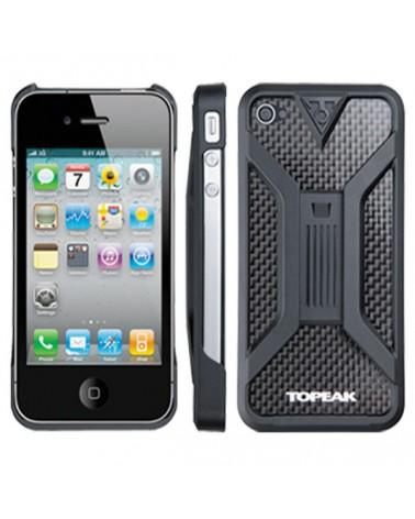 Funda+soporte Topeak Ridecase para Iphone 4/4S