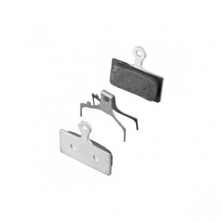 Pastillas disco Shimano XTR-XT-SLX M9000-987-8000-785 Resina