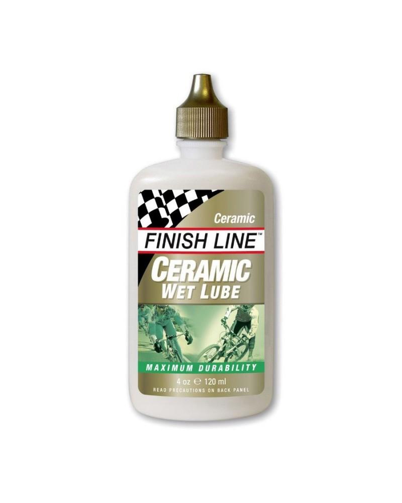 Lubricante Finish Line Cerámico para húmedo en botella 60ml
