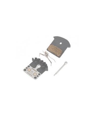 Pastillas disco Shimano XTR-XT-SLX M9000-M8000-987-785 Refrigeradas Metalicas