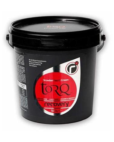 Bebida de recuperación Torq Recovery Fresa y Crema 500 gr.
