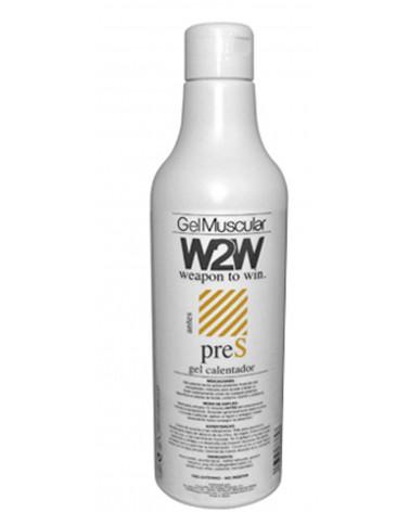Gel W2W Pre S termo activador muscular 500ml