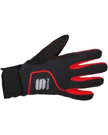 Guantes Sportful Sotto Zero Negro/Rojo