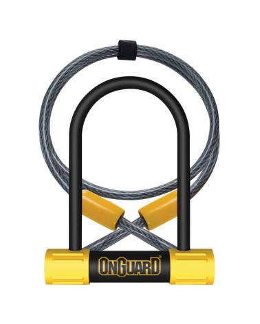 Candado Horquilla Mini Onguard Bulldog 90x140mm + cable