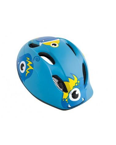 Casco Met Buddy Azul Monstruo
