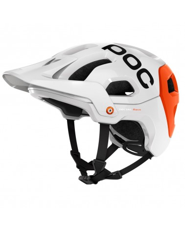 Casco Poc Tectal Race Blanco/Naranja