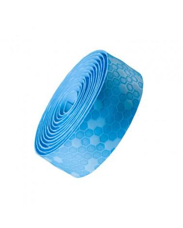 Cinta de manillar Bontrager Gel Cork Azul Cielo