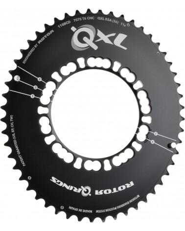 Plato Rotor Qring QXL 5 Tornillos 110 Bcd Exterior