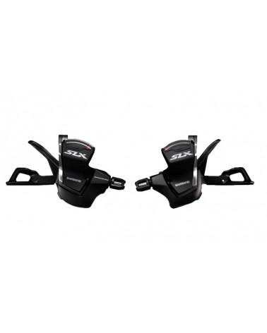 Manetas de Cambio Shimano SLX M7000 11X2/3V. con abrazadera sin Display