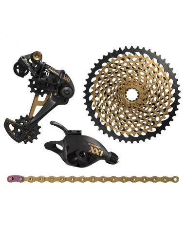 Grupo Sram Eagle XX1 1x12 Upgrade Gold