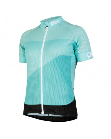 Maillot Poc Fondo Women Light Gradient Octiron Multi Blue