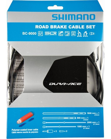 Cable de freno/funda/topes Shimano carretera polimero N
