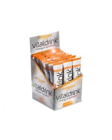 Isotónico Infisport Vitaldrink Naranja sticks 20 gramos