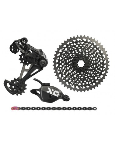 Grupo Sram Eagle X01 1x12 Upgrade Negro