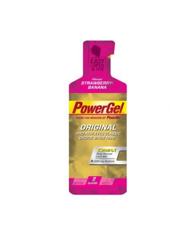Gel Powerbar Powergel+Sodio Fresa/Banana