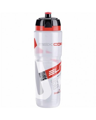 Bidón Elite Maxicorsa Transparente Rojo 950 ml