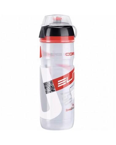 Bidón Elite Supercorsa Transparente/Rojo