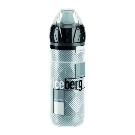 Bidón Elite Iceberg Logo 500 ml. Gris