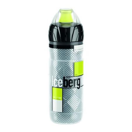 Bidón Elite Iceberg Logo 500 ml. Amarillo