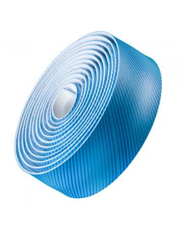 Cinta de manillar Bontrager Gel Cork Azul Stripey