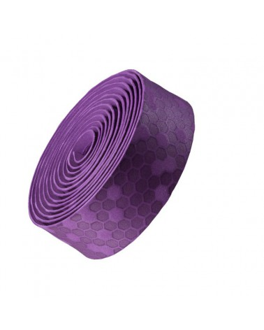 Cinta de manillar Bontrager Gel Cork Loto Púrpura