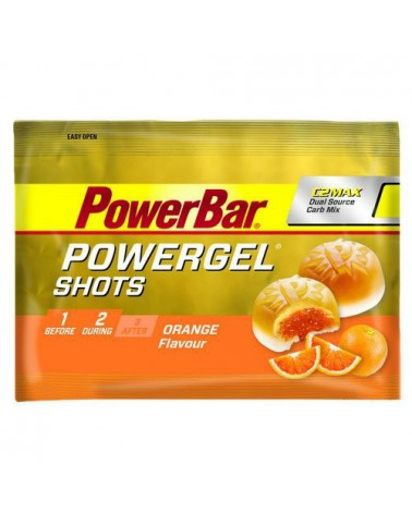 Gominolas Powerbar Shots Naranja