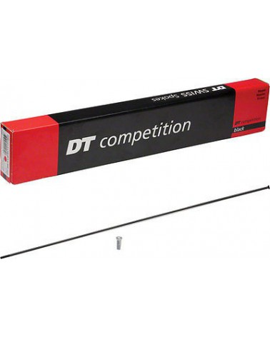Radio Dt Swiss Competition 2.0/1.8 306mm straight pull Negro