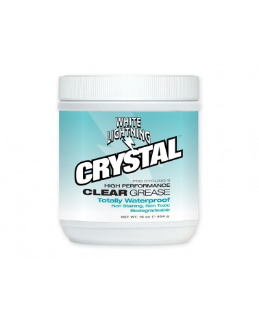 Grasa Alto Rendimiento White Lightning Crystal 16oz