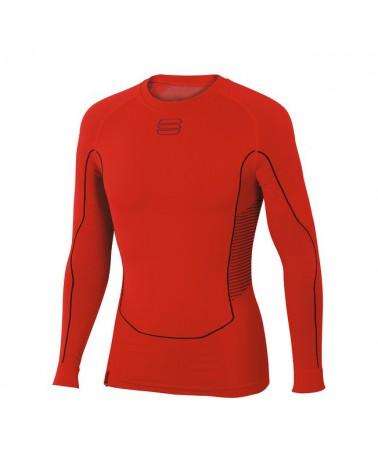 Camiseta interior Sportful 2nd Skin LS Top Rojo