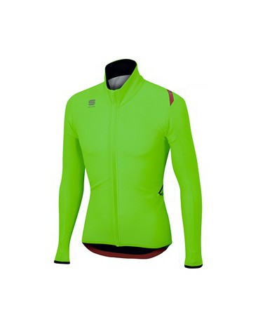 Maillot Sportful Fiandre Light Wind 2015 Verde Fluor