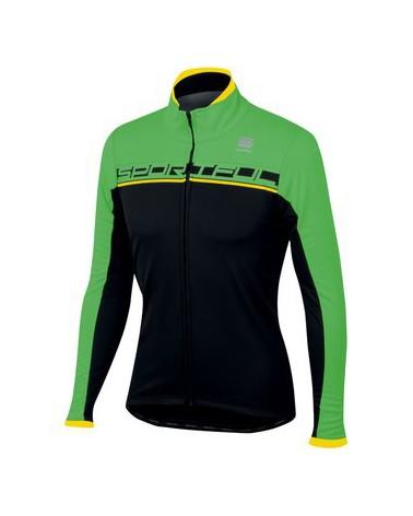 Chaqueta Sportful Giro Softshell Negro/Rojo
