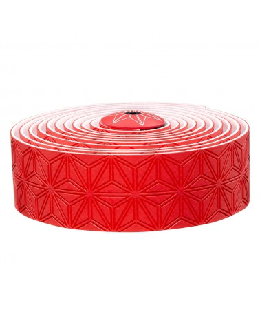 Cinta de manillar Supacaz Sticky Kush Gel de Silicona Rojo