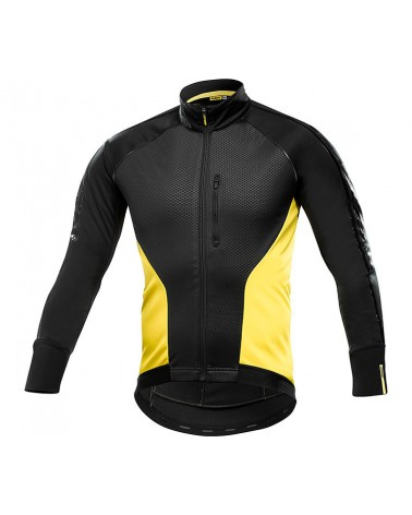 Chaqueta Mavic Cosmic Elite Thermo Negro/Amarillo