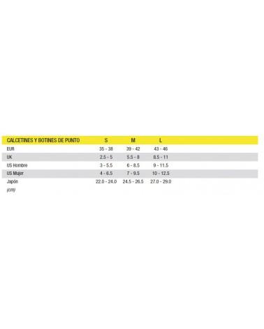 Calcetín Mavic Ksyrium Pro Thermo+ Negro/Amarillo