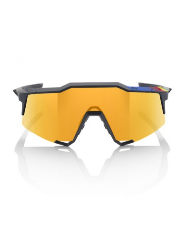 Gafas 100% Speedcraft LL Soft Tact Sagan Edition Lente Espejo Dorada