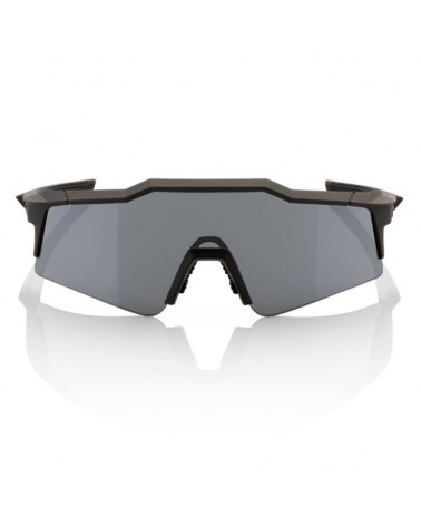 Gafas 100% Speedcraft SL Gun Metal Lente Black Mirror