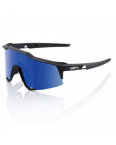 Gafas 100% Speedcraft LL Soft Tact Black Lente Ice Mirror