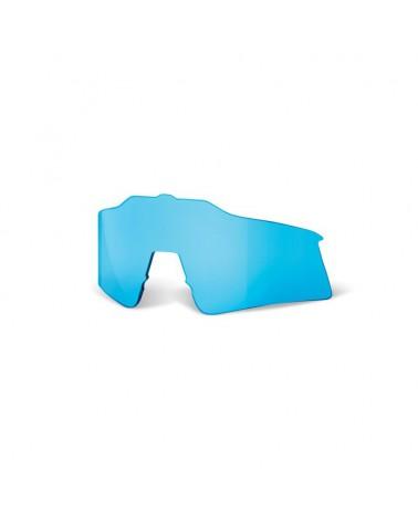 Lente 100% Speedcraft Espejo Azul Pequeña