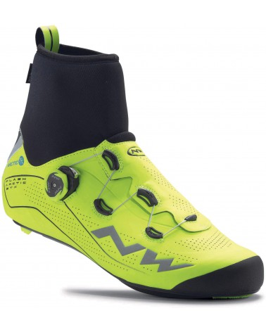 Zapatillas Carretera Northwave Flash Arctic Gtx Amarillo Fluor