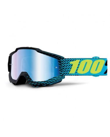 Mascara 100% Accuri R-Core Lente Espejo Azul