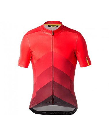 Maillot Mavic Cosmic Gradiant Fiery Red