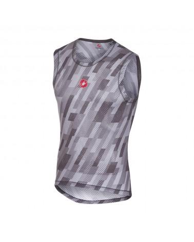 Camiseta Interior Castelli Pro Mesh sin mangas Gris